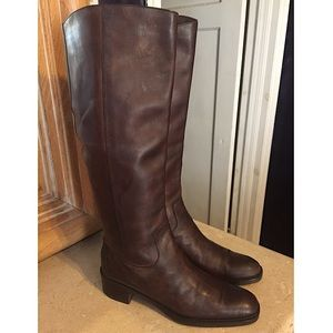 Via Spiga for Neiman Marcus Brown Leather Boot